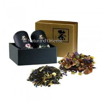 Gift box 2 tin & 2 infusion
