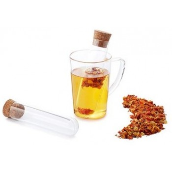 Cup infuser in glass ampoule