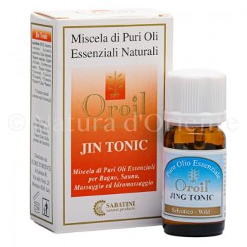 Jin Tonic Miscela di Oli Essenziali 10 ml