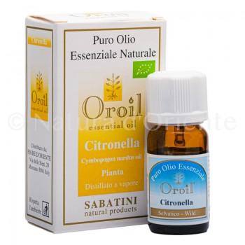 Citronella Olio Bio Essenziale 10 Ml