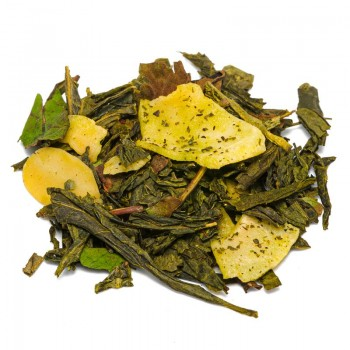 tè verde alla mandorla arrostita  [Natura d'Oriente]