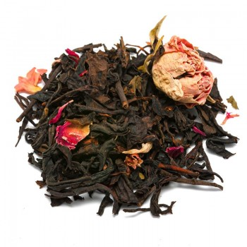 Oolong raspberries and rose