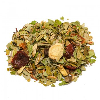 mixture of herbal slimming