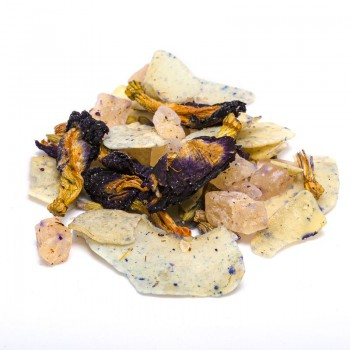 Coconut and lavender infusion