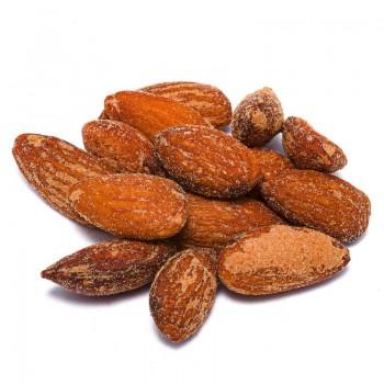 Shelled smoked almonds