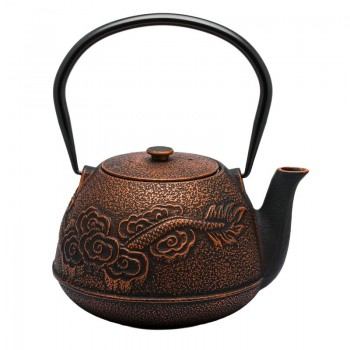 teapot iron bronze