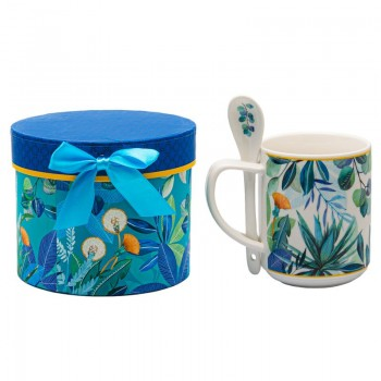 Porcelain mug with gift box