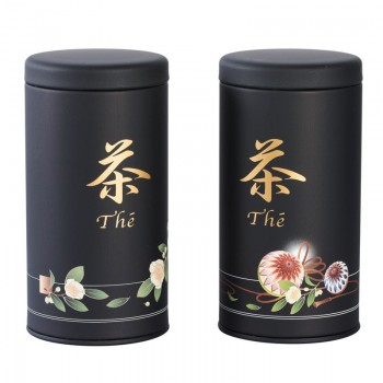 Japanese tin can packaging