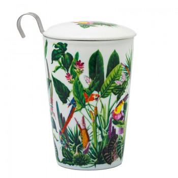 Fauna porcelain cup
