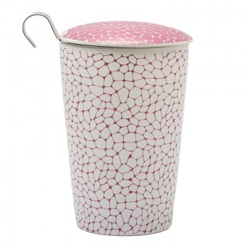 Porcelain cup with filter