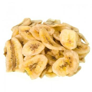 Dehydrated banana chips