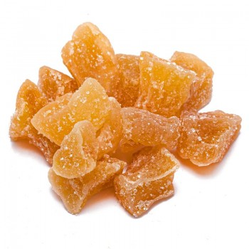 Dehydrated diced ginger