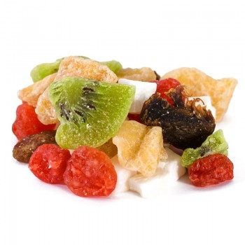 Dehydrated fruit salad