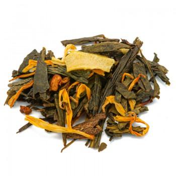Tè verde ananas e cannella