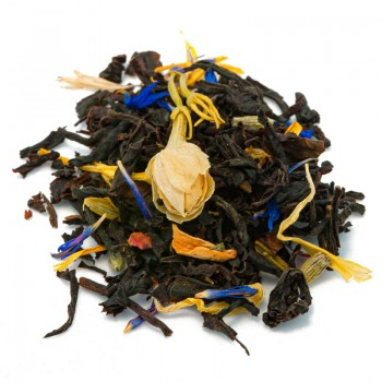 Black tea apricot orange
