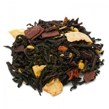 Tè nero cioccolato e cocco tostato- Natura d'Oriente-