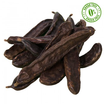 Dehydrated carob beans