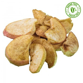 Crispy dried apples with...