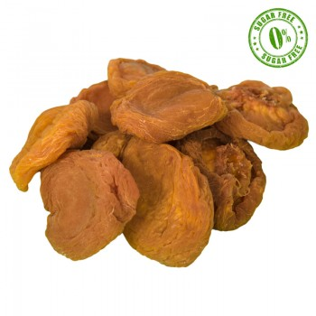 Dehydrated dried peaches