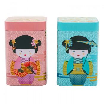 Scatola porta tè Geisha...