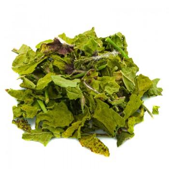 Mallow herbal tea cut leaves