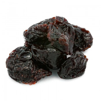 Dehydrated pitted red cherries
