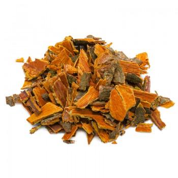 buckthorn in herbal tea cut...
