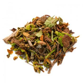 Herb breaker cut herbal tea
