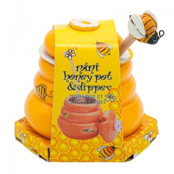 Honey jar in ceramic