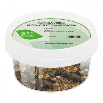Green paprika flakes from...